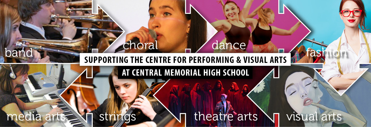 Supporting the Centre for Performing & Visual Arts at Central Memorial High School